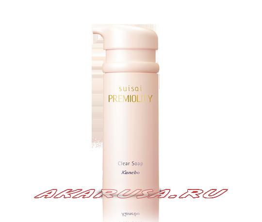 Suisai Premiolity Clear Soap жидкое мыло для умывания