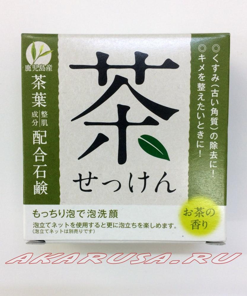 Мыло с зеленым чаем