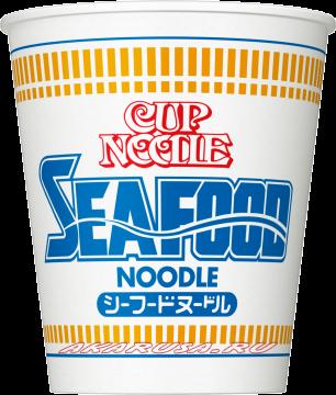 Лапша быстрого приготовления 'Cup Noodle Seafood'