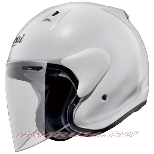 Мотоциклетный шлем SZ-G зеркально-белый