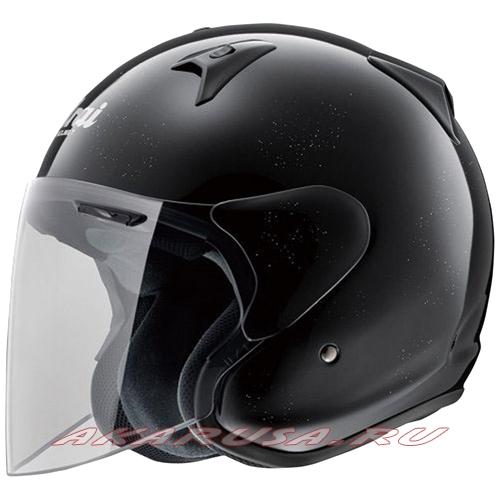 Мотоциклетный шлем SZ-G зеркально-черный