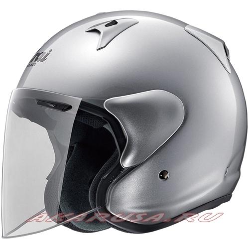 Мотоциклетный шлем SZ-G серебристый