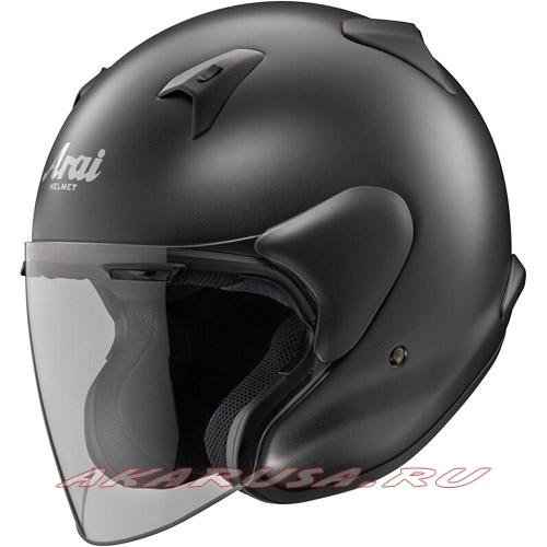 Мотоциклетный шлем MZ-F матово-черный
