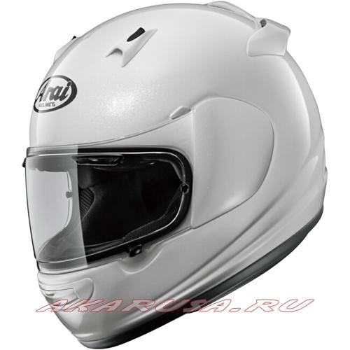 Мотоциклетный шлем QUANTUM-J зеркально-белый