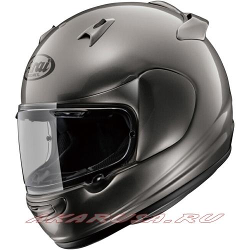 Мотоциклетный шлем QUANTUM-J серебристый