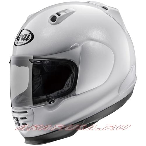 Мотоциклетный шлем RAPIDE IR зеркально-белый
