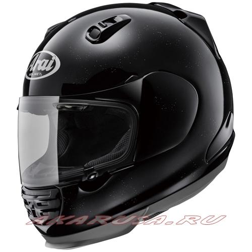 Мотоциклетный шлем RAPIDE IR зеркально-черный