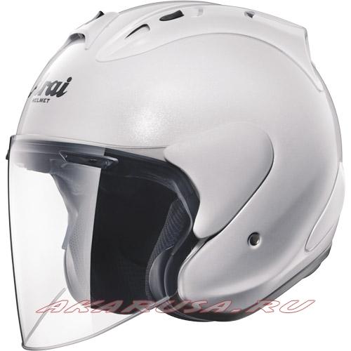Мотоциклетный шлем SZ-RAM4 зеркально-белый