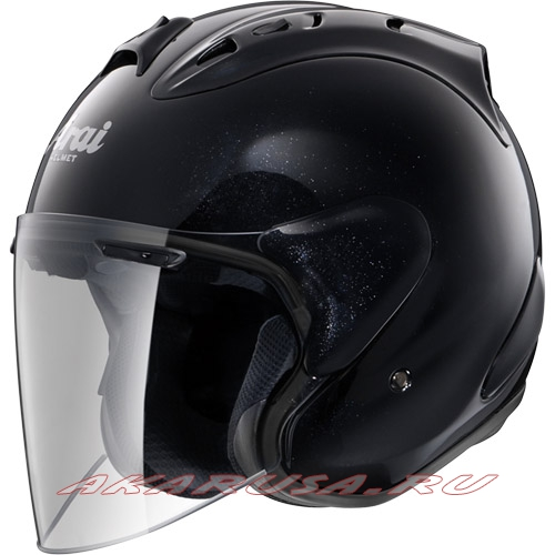 Мотоциклетный шлем SZ-RAM4 зеркально-черный