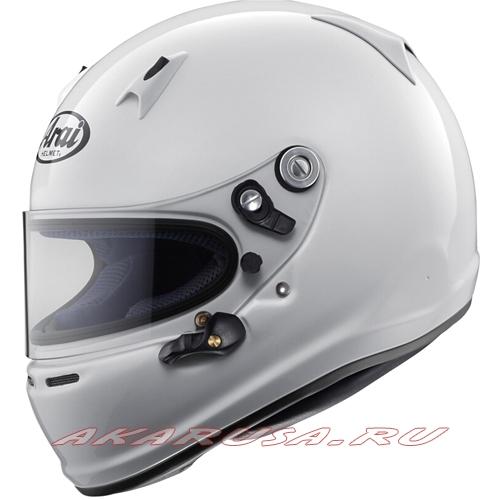 Мотоциклетный шлем SK-6 белый
